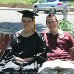 Jeanna and I on 6/9/2012 - My MBA Graduation Celebration