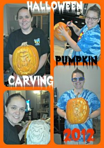 Pumpkin Carving Time Again!!  Happy Halloween!!