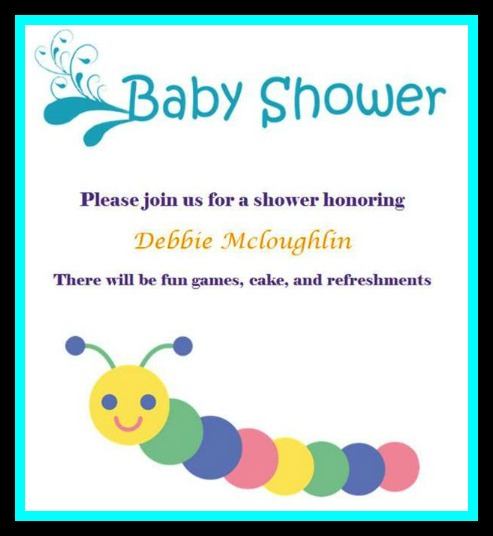 ... A Baby Shower, Making Sure Iu0027d Be In The Office As We Juggle Doctors  Appointments Etc. We Decided On June 18th Would Work Best.