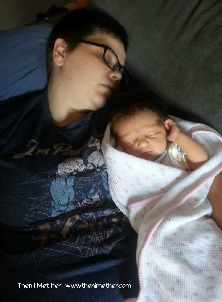Jeanna and Gradie - one of my favorite pictures